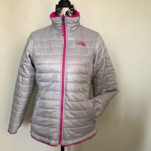 The North Face reversible girls jacket